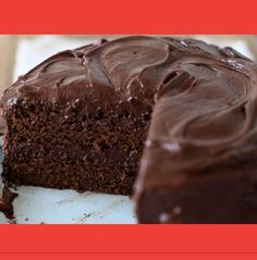 Bolo de Chocolate Mais Fácil do Mundo