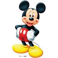 Mickey Mouse Life Sized Cardboard Cutout $34.95