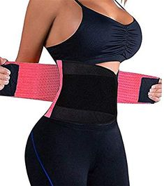 22041c477d Amazon.com  VENUZOR Waist Trainer Belt for Women - Waist Cincher Trimmer -  Slimming