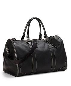 Brooks Brothers Pebble Leather Duffle ($598)