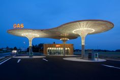 Scia Engineer gas service station design