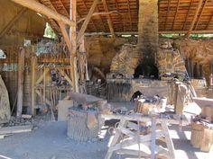guedelon blacksmith - Google Search