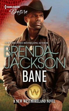 On the cover of Brenda Jackson new book.