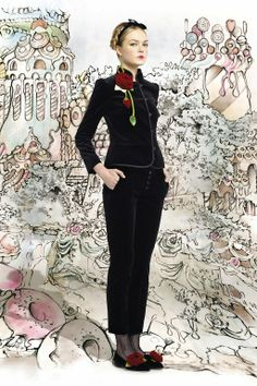 The Terrier and Lobster: RED Valentino Hansel & Gretel Fall 2013 Collection