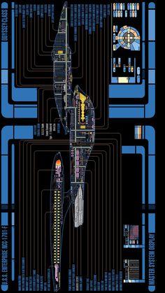 Odyssey Class USS Enterprise F schematic
