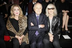 Saint Laurent Spring 2016 Ready-to-Wear Fashion Show Front Row