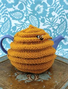 Yarnspirations.com - Patons Beehive Tea Cozy - Patterns  | Yarnspirations