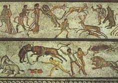 Los espectáculos gladiatorios de la Antigua Roma siempr …