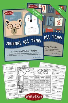 Journal All Year! Homeschool Curriculum Reviews, Writing Curriculum, Homeschool Books, Teaching Writing, Online Homeschooling, Teen Writing Prompts, Writing Lessons, Biology Teacher, Teaching Biology