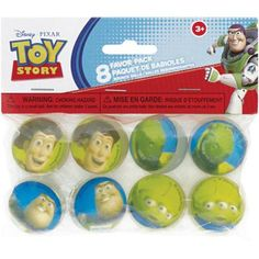 Wal-Mart.......Toy Story Bouncy Ball Party Favors, 8-Count