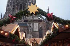 Christmas Market, Star, Light, Lighting