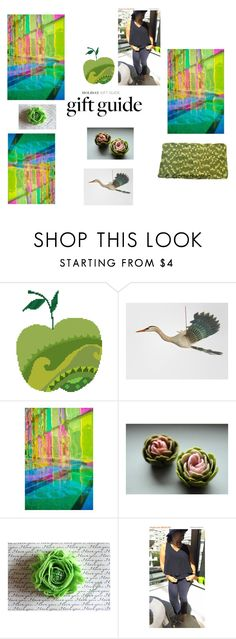 """""""Holiday Gift Guide Apple Green"""" by rocky-springs-vintage ❤ liked on Polyvore featuring Pretty Green and integrityTT"""