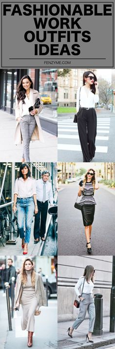 42 Fashionable Work Outfits Ideas to Try Before Anyone in 2018