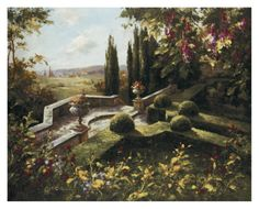 Mystic Garden I Art Print