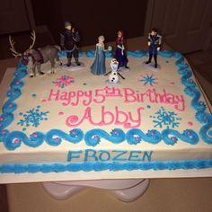 Disney Frozen Ice Cream Cake Sydney