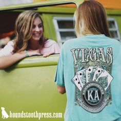 KA Vegas formal shirt | #LoveTheLab houndstoothpress.com | Sorority and…