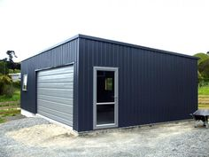 Corrugated architectural metal siding morin metal wall for Garage auto drancy