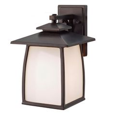 Mission Pagoda Outdoor Wall Lantern - Large