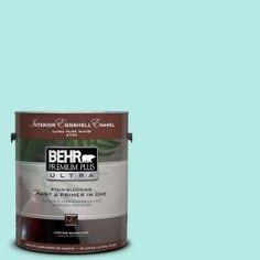 BEHR Premium Plus Ultra, 1-gal. #P450-2 Tahitian Breeze Eggshell Enamel Interior Paint, 275001 at The Home Depot - Mobile