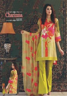 60c7400001 LATEST Charizma LAWN Collection 2019 | online shopping in pakistan  Pakistani Dresses, Lawn, Online