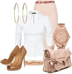 """""""Pretty In Pink"""" by hope-houston on Polyvore"""