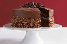 Pastel espectacular de chocolate y plátano receta