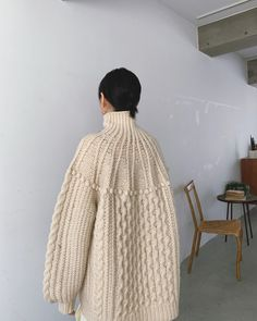 Knitwear Fashion, Sweater Fashion, Fashion Face, Work Fashion, Fashion Outfits, Knitting Stiches, How To Purl Knit, Ethical Fashion, Get Dressed