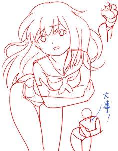「個人的赤ペン絵と落書き(えちぃのがあるのでR-18)その9」/「0033」の漫画 [pixiv]