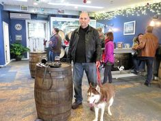 Dogs Luv Us and We Luv Them: 100 Places to See With Your Dog - A Dog Friendly Brewery in Northport, NY