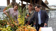 Vegetables/Fruit/Fish Market in Lucerne - Switzerland Tourism