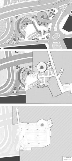 Parque Şışhane,Plano de emplazamiento