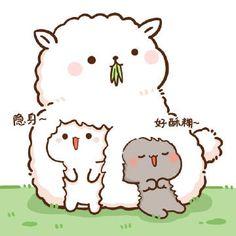 Cute Anime Cat, Cute Bunny Cartoon, Cute Cartoon Images, Cute Kawaii Animals, Cute Animal Drawings Kawaii, Cute Love Cartoons, Cute Cat Gif, Cute Cartoon Wallpapers, Kawaii Cute