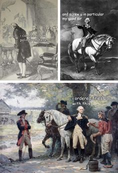 The Adventures of George Washington by LadyHistory. Haha why do these make me laugh so hard
