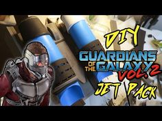 DIY Guardians of the Galaxy Vol. 2 Jet Pack [Star-Lord]: ZonZonZonbi DIY Guardians of the Galaxy Vol. 2 Jet Pack [Star-Lord] Cop by…