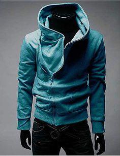 07d330e96 Conjuntos Activewear De hombres Casual Un Color Mezcla de Algodón Manga  Larga – TaFull E-