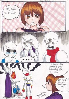 Frisk, What the !? by Kitagami on DeviantArt