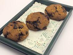 Biscottoni al cioccolato, senza glutine  http://stellasenzaglutine.com/2015/04/09/biscottoni-al-cioccolato-senza-glutine-senza-burro-e-senza-zucchero-da-una-idea-di-anna-moroni/