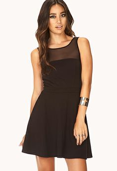 Valentines Day Dress Forever Cool Fit & Flare Dress | FOREVER21 - 2000129808
