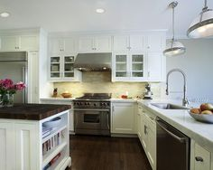 want this back splash with my butcher block counters-Heath Ceramic Art Tile from Ann Sacks Tile & Stone