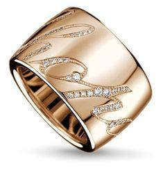 Chopard Chopardissimo Diamond Ring ~ Colette Le Mason @}-,-;--- via: