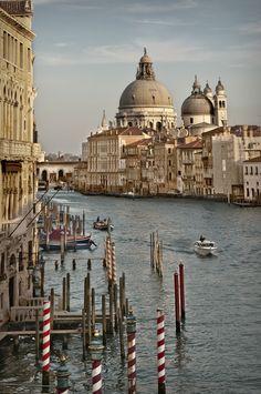S. Maria della Salute. Gran Canal. Venecia