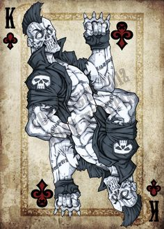 King of Clubs by *NoahW on deviantART