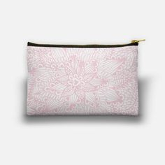 Our quality crafted pouches feature full, double sided printing. They are hand sewn with soft and durable 100% cotton canvas fabric, #pouch #pink #cute #girly, #carry #artistic, #carry #fashion