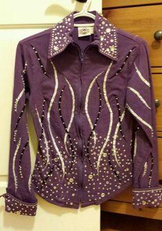 Rod's Purple Rail Shirt Showmanship Horsemanship Horse Show | eBay