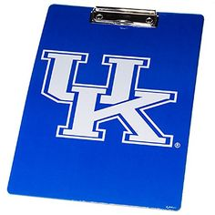 Great for Graduation or any occasion! Kentucky Wildcats Logo Stationary Clipboard Sports Team A... http://www.amazon.com/dp/B01EZ0ZAVY/ref=cm_sw_r_pi_dp_q4Kmxb0CA47YY