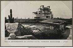 Isola, Dépendance du Grand Hotel Homann, Bandoeng Java. 1938