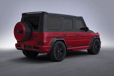 Lumma CLR - brightly colored legend: The performance version of the new G-Class, the Mercedes-A Mercedes G Wagon, Mercedes Amg, Mercedes Benz G Class, Cl 500, Red Lamborghini, Merc Benz, Armored Truck, New Sports Cars, Suv Cars