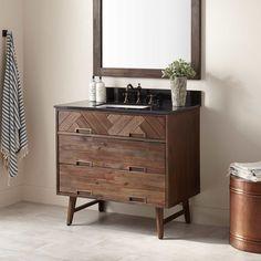 "36"" Danenberg Vanity for Rectangular Undermount Sink"