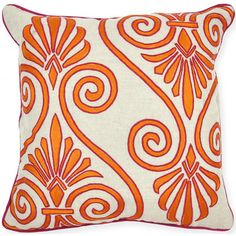 Idomatic Mandara Orange Pillow $79.00
