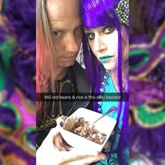 Still posting MG pics!! Ron makes awesome red beans and rice! #mardigras #mardigras2016 #mardigrasmakeup #redbeansandrice #camelliabeans #fattuesday #instalove #instagood #instamood #purplehair #purplehairdontcare #redhair #redhairdontcare #frenchquarter #vieuxcarre #everywhereelseitsjusttuesday #onatuesday #tuesday #instafun #instapic #instagramers #instagram #instalike #instamoment #like4like #likeforlike #fun #mood #picoftheday by makeupsharlee